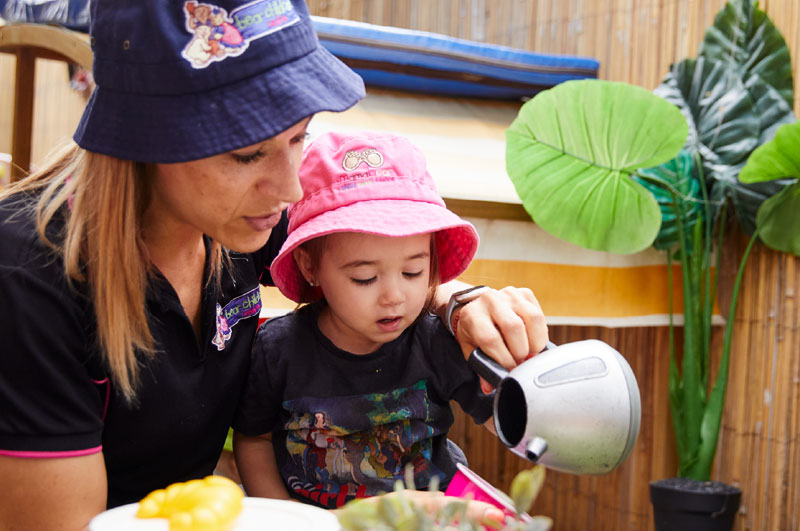 At Bear Child Care Centres we strive to create a warm, natural and homely environment for the personal care and education of your child. We aim to encourage your child to thrive, by providing stimulating, varied, fun and creative developmental opportunities through play: a