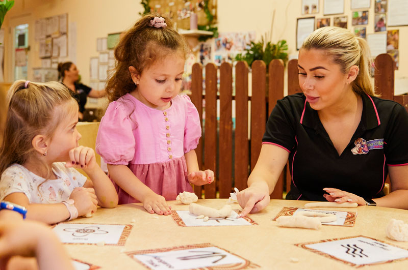 """ur Education Beliefs are based on the empowerment of """"Evolutionary Learning"""". EYLF (Early Years Learning Framework) supports this theory under the NQF (National Quality Framework) of interest-based learning."""