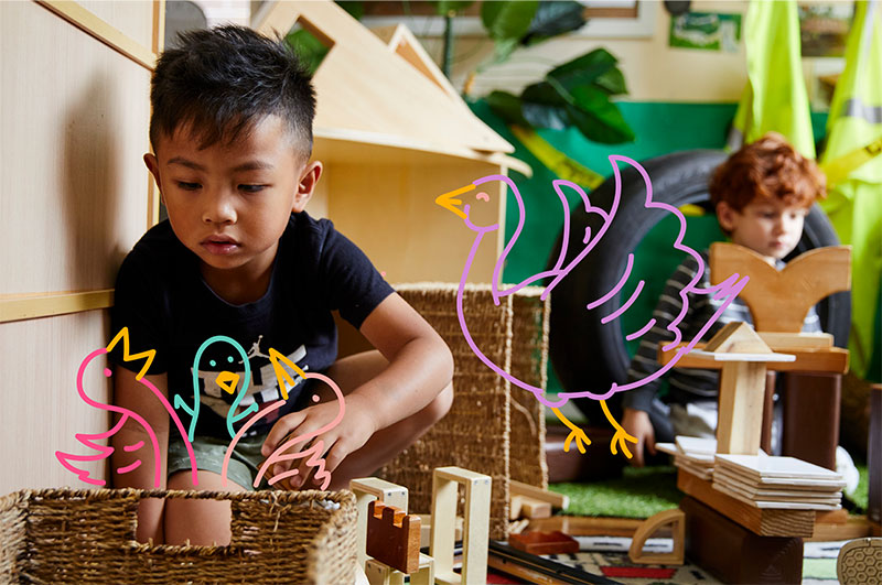 What Is the Reggio Emilia Approach? The Reggio Emilia Approach is an educational philosophy that follows an innovative and inspiring approach to early childhood education, which shows value towards every child as strong, independent, capable, resilient, and rich with wonder and knowledge.